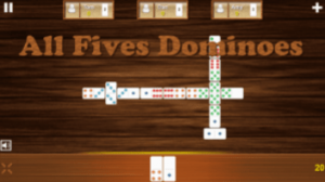 Fives and Threes Domino