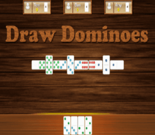 Draw domino online game play