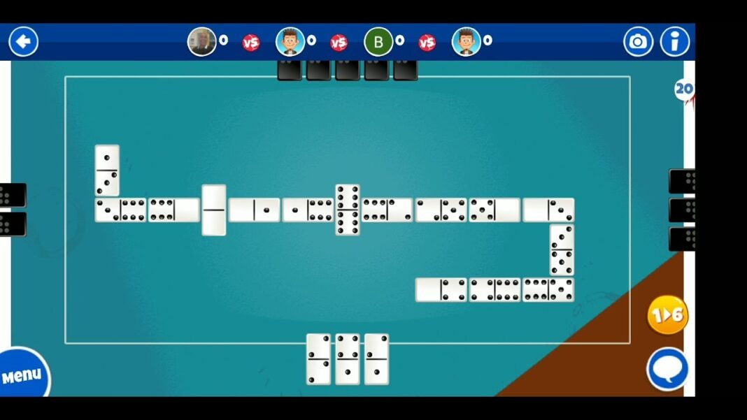 How to play domino online game